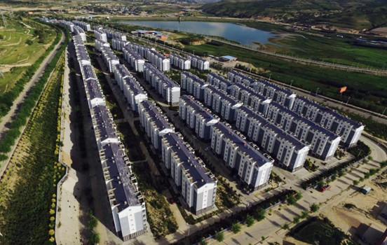 固原市西吉县88栋廉租房检测鉴定及变形监测