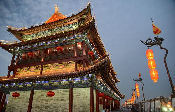 西安城墙承载力评估